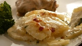 Scalloped Potatoes / Potatoes Au Gratin Recipe