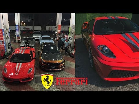 Super Rich Kid drives India s only Ferrari F430 Scuderia | 100k Subscribers| Supercar