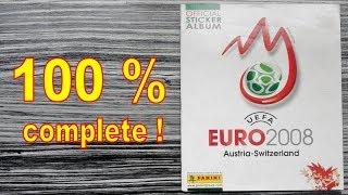 """Panini Album """"UEFA Euro 2008 Austria - Switzerland"""" - 100 % COMPLETE / FULL / LLENO / COMPLETO"""