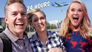 24 HOURS in LA with REESE WITHERSPOON Team