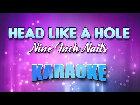Nine Inch Nails - Head Like A Hole (Karaoke & Lyrics)