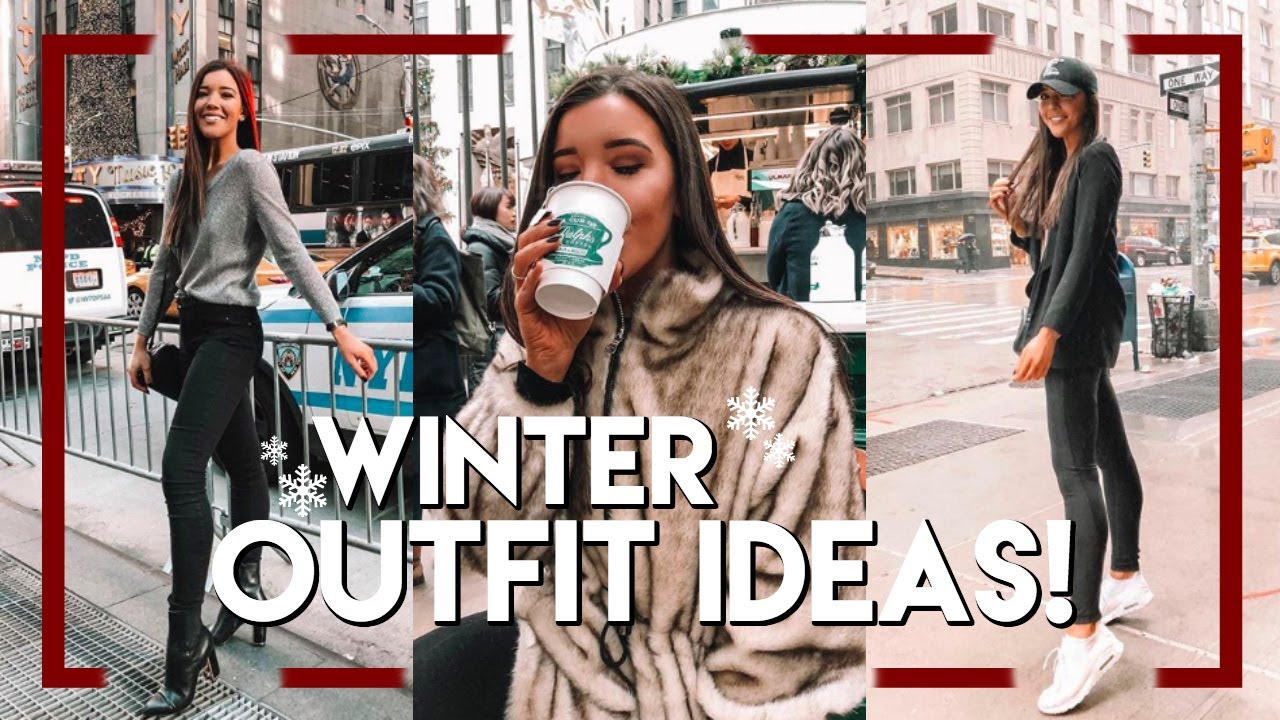 WINTER 2018 OUTFIT IDEAS | 5 OUTFITS IN NEW YORK – Vlogmas Day 7
