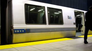 BART San Bruno Station California Bay Area Rapid Transit