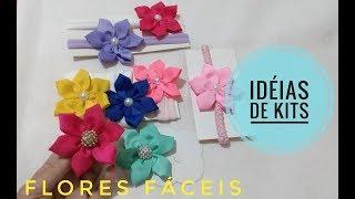 Flores fáceis – IDEIAS PARA MONTAR KITS