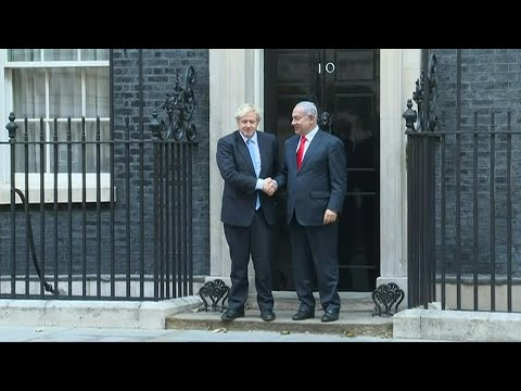 Boris Johnson Meets Israeli Prime Minister In London | AFP
