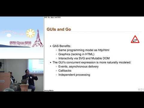GAS: Go, Ajax, SVG: Adding Graphics to Go with SVG