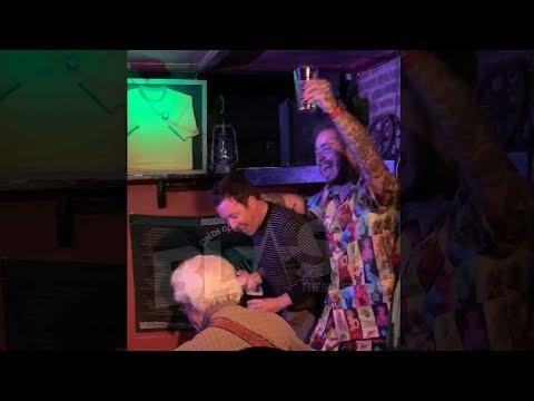 Jimmy Fallon & Post Malone Lead A Drunk Irish Sing-A-Long