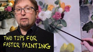 #4 episode. Two tips for faster painting