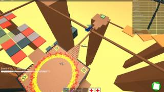 Roblox sword fight on the heights 47-0 kill streak only to die because of a glitch