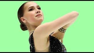 Загитова показала мощную тренировку в зале родного Хрустального Алина в полном порядке