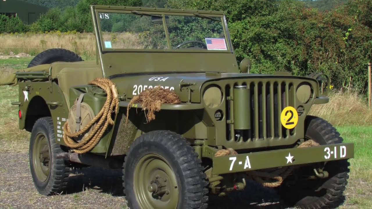 1945 Willys MB Jeep - FOR SALE - YouTube