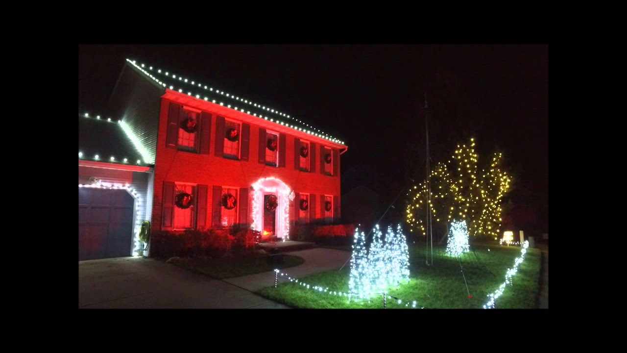 2015 Kurtz Christmas Lights - Nutcracker Dubstep - YouTube