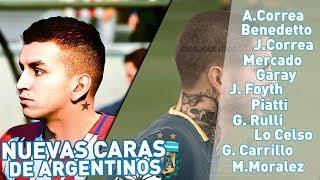 !!NUEVAS FACES de ARGENTINA en FIFA 19!! Así son las caras en la BETA de FIFA 19!!