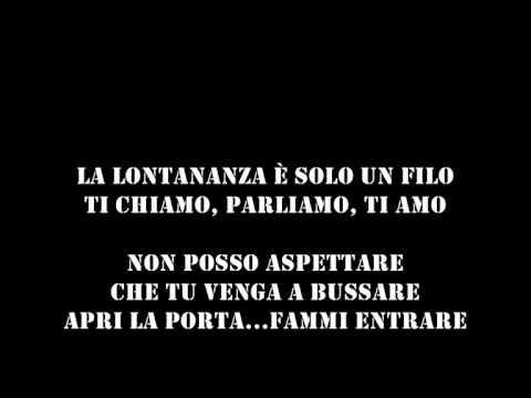 """Antonino- La lontananza (con testo) dall'album: """"Libera quest'anima"""""""