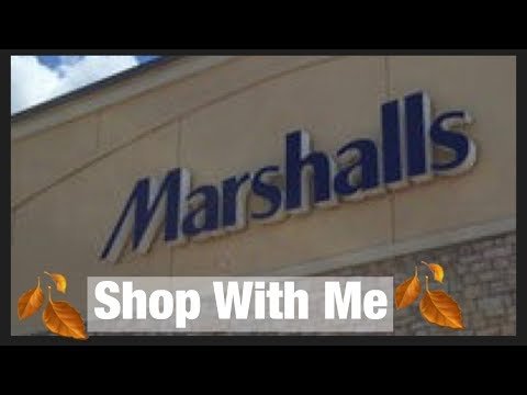 Marshall's Fall Home Decor Shop With Me Walk Through