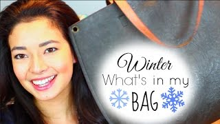 UPDATED: Winter What's in my Bag! Thumbnail