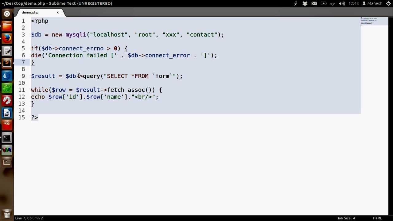 How to create a search using PHP, mysqli and a html form ...
