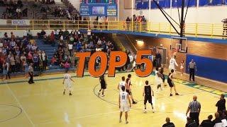 Hudl Top 5 High School Basketball Plays: Week 10 - 2016 thumbnail