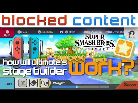 How NEW STAGE BUILDER Could WORK in Super Smash Bros. Ultimate! - LEAK SPEAK! thumbnail