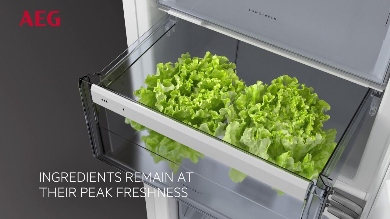 Aeg Kühlschrank Forum : Longfresh zerodegree compartment aeg fridge freezer youtube