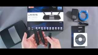 Linksys AC1900 Dual Band Gigabit Router EA6900 Unboxing