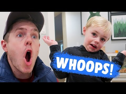 I BROKE IT DAD! How Much Was It?! Bad Accident | Ellie And Jared