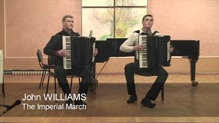 John Williams - The Imperial March (TWO ACCORDIONS)