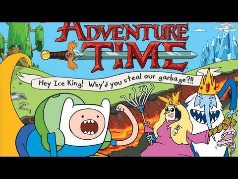 CGRundertow ADVENTURE TIME: HEY ICE KING! WHY'D YOU STEAL OUR GARBAGE?! for 3DS Video Game Review
