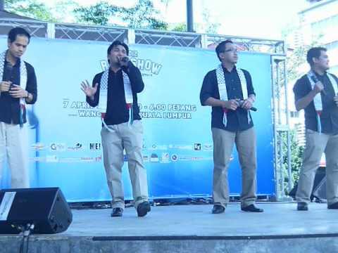 ( Saujana - Penerang Hati ) Roadshow Anugerah Nasyid 2012