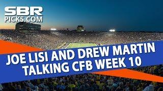 Free College Football Picks   LSU vs Alabama & More   Week 10 Betting Previews With Joe Lisi