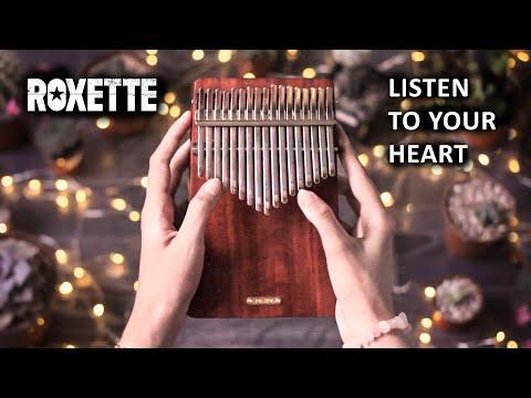 [kalimba Cover] Listen To Your Heart – Roxette – Eva Auner