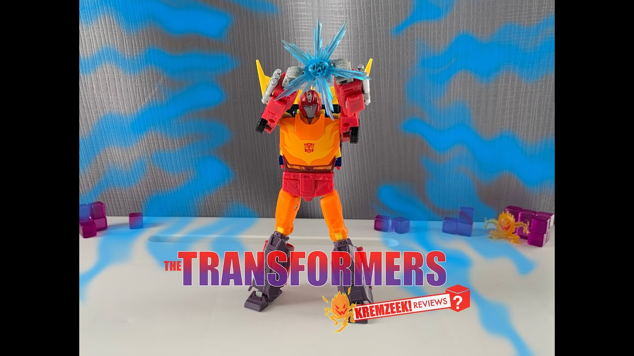 Transformers Studio Series Movie (1986) Hot Rod In-Hand by Kremzeek Reviews