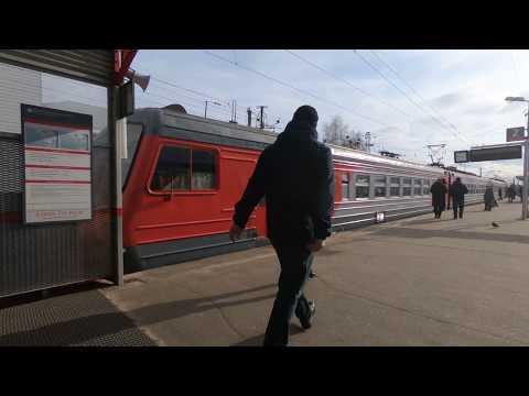 ЭД4М-0096, маршрут: Александров-1 - Москва / Train ED4M-0096: Route: Aleksandrov - Moscow