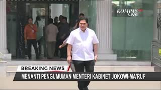 TERBARU - Perkenalan Menteri, Erick Thohir Dipanggil ke Istana Negara