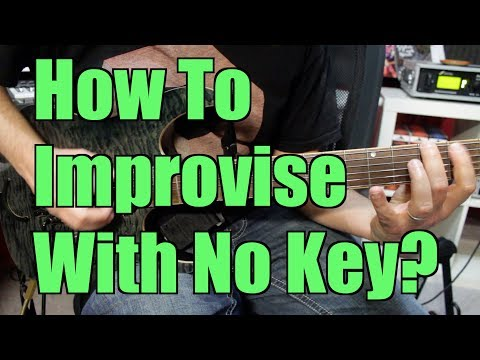 How To Improvise On Guitar Without Scales