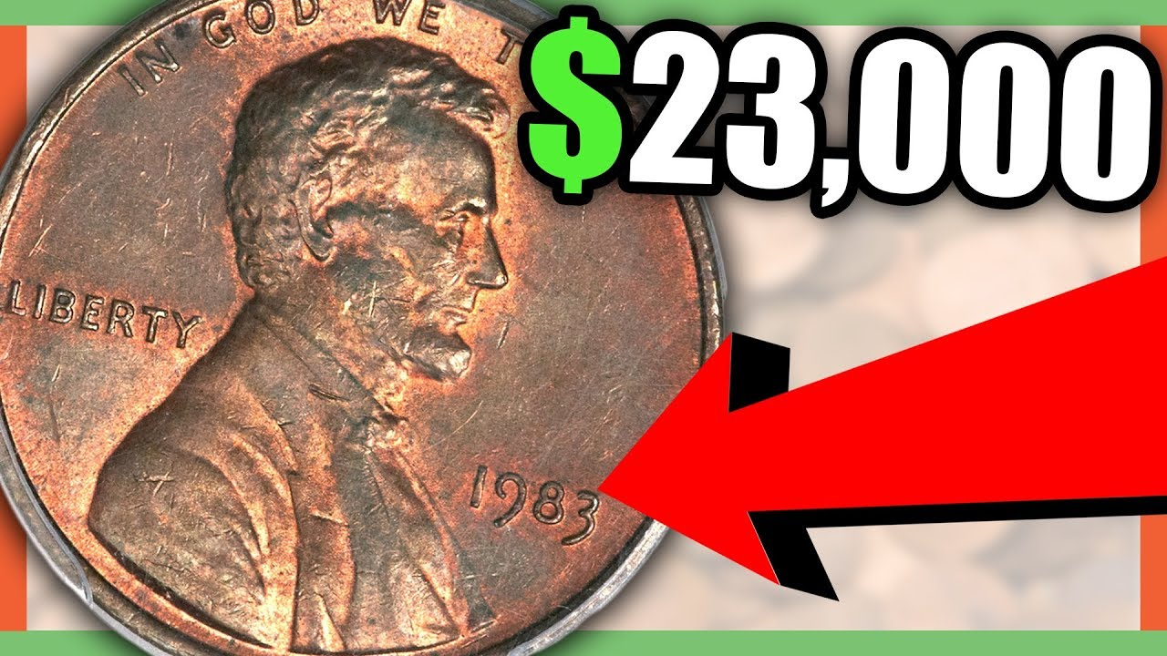 1983 PENNY SOLD FOR BIG MONEY - RARE PENNIES TO LOOK FOR IN POCKET CHANGE!!