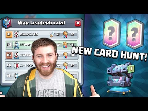 CLOSEST WAR EVER?! & NEW CARD GEMMING! | Clash Royale | LEGENDARY KINGS CHEST OPENING!
