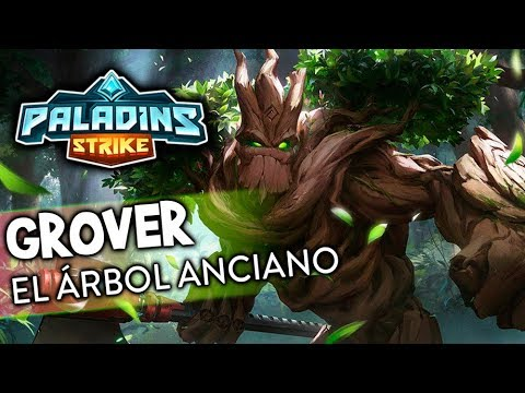 EL ÁRBOL ANCIANO | Grover Gameplay | Paladins Strike | Black Ursus