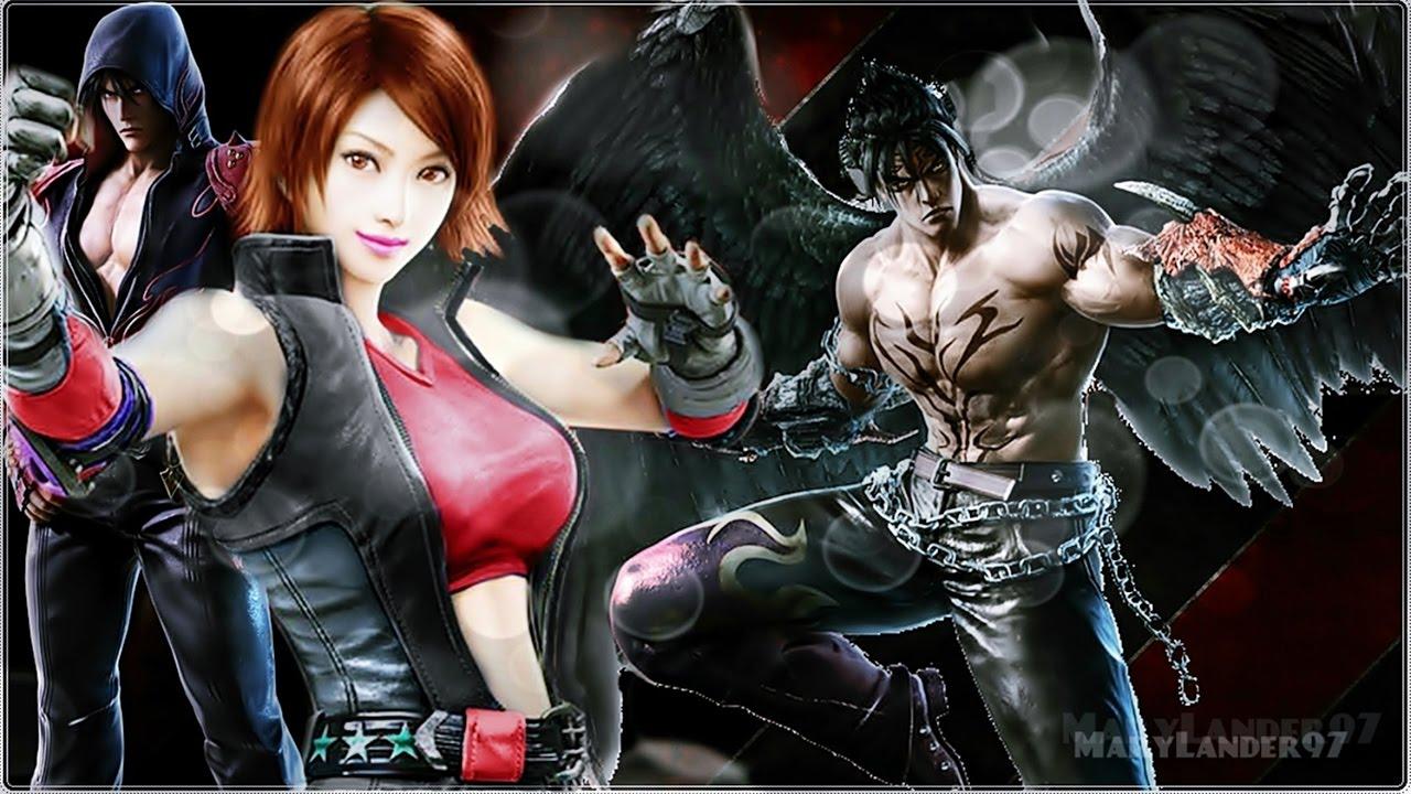 Tekken 6 PSP Kazamas Simple Combo Act In B And K