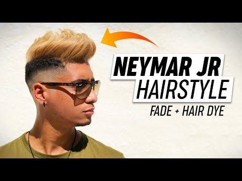 Mens Fade - Neymar Jr. Hairstyle Tutorial 2018 thumbnail