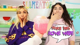 TURN THIS STORE BOUGHT BUCKET OF SLIME INTO HOME MADE SLIME! Slimeatory #610