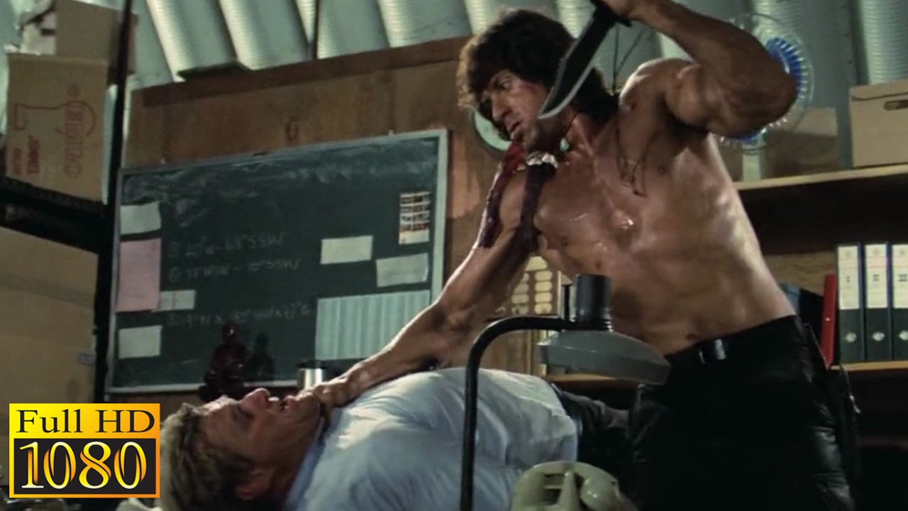 Download Rambo First Blood 2 (1985) - Rambo & Murdock Deadly Conversation Scene (1080p) FULL HD
