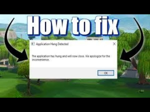 How To FIX ALL Fortnite Crashes - Ch. 2 Season 2 (Application Has Hung, Video Driver Crash)!!!