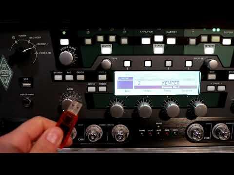 COMO ACTUALIZAR EL KEMPER PROFILING AMP | tutorial Kemper en Español 9.