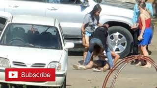 BRUTAL Attack Sparks Revenge Beating!!! A Lesson In Weapon Retention [Street Fight BREAKDOWN]