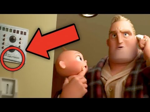 INCREDIBLES 2 Full online Breakdown - Details You Missed! (Screenslaver Explained!)