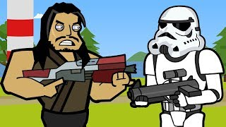 Stormtrooper & Frenzy Farm | Fortnite Animation (The Squad)