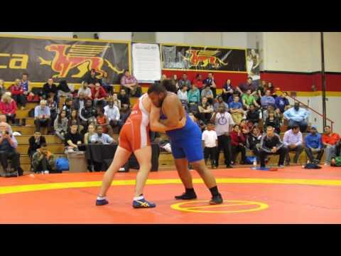 2014 Guelph Open: 125 kg Final Korey Jarvis vs. Patrick Okpalugo