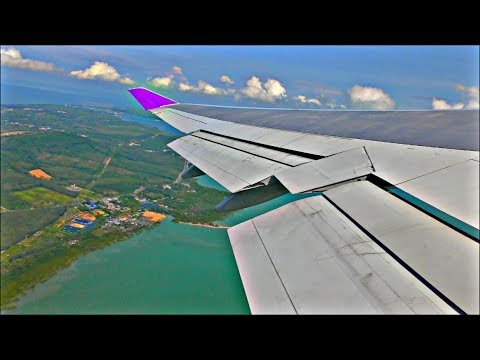 Thai Airways Boeing 747-4D7 | Phuket to Bangkok *Full Flight*