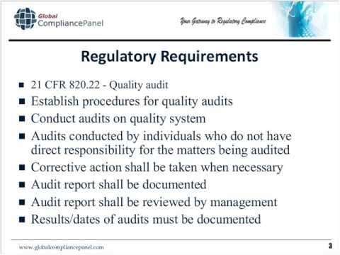 Supplier and Internal Auditing